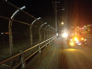 Fence on Bridge