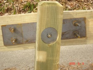 Timber Guardrail