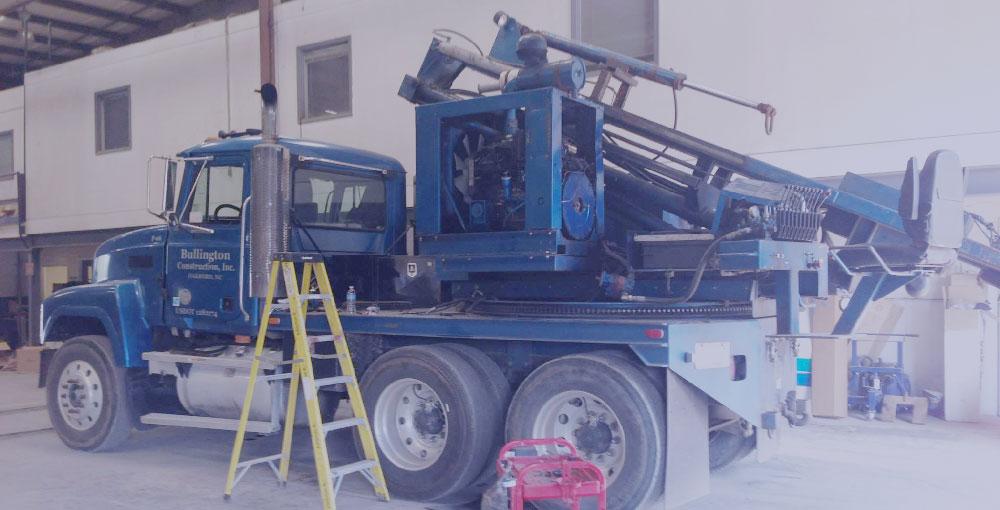 Bullington Post Driver Truck