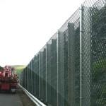 Highway Fence Installation
