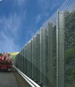 Highway Fence Installation