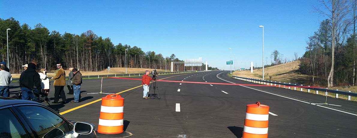 Triangle Parkway Ribbon Cutting