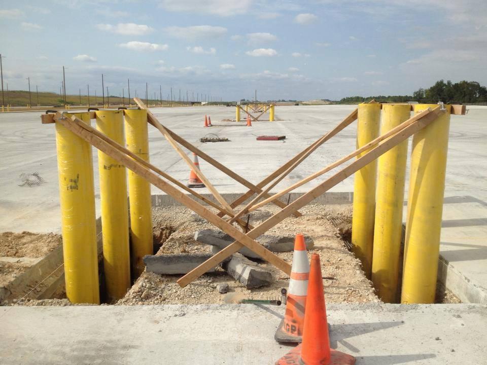 Working With Epoxy Coated Rebar besides 263354 10152424653035300 718265408 n as well ChimneyRebuild likewise Olathemudjacking additionally Bollard Installation. on concrete repair