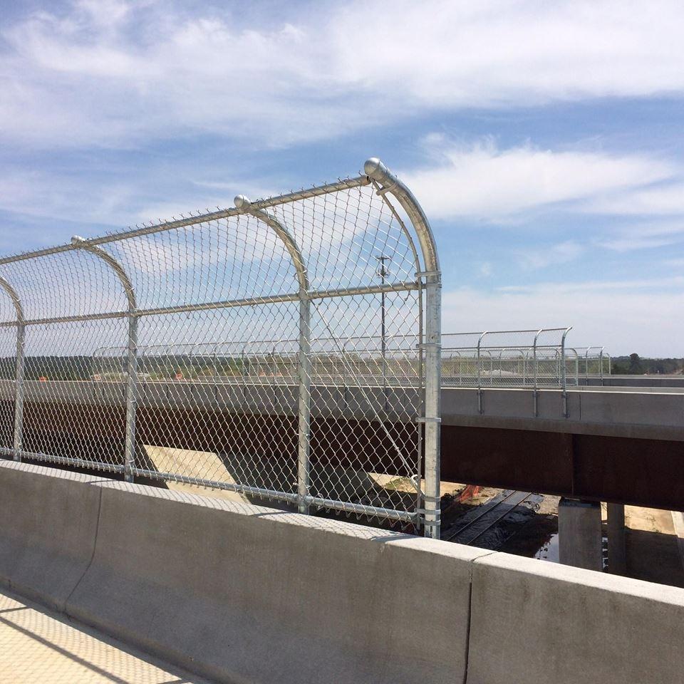 Highway Bridge Fencing Bullington Construction Inc
