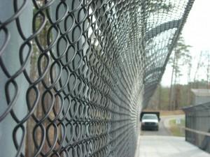 Pedestrian Bridge Fence Installation