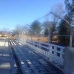 Highway Bridge Fence