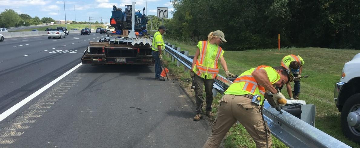 Guardrail Repairs in Charlotte